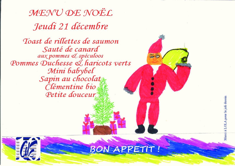 Dessin De Menu Pour Noel.Menu De Noel Du 21 Decembre 2017 Caisse Des Ecoles Du 10e