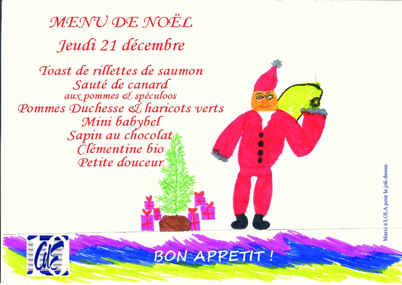 Un Bon Menu De Noel.Menu De Noel Du 21 Decembre 2017 Caisse Des Ecoles Du 10e